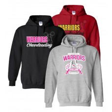 Warriors Cheerleading Hoodie