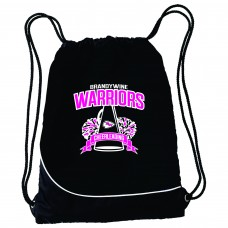 Warriors Cheerleading Cinch Bag
