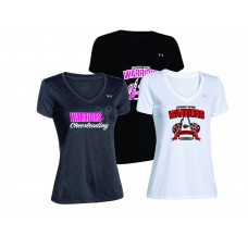 Warriors Cheerleading Underarmour Ladies Tee
