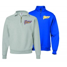 AI SOFTBALL 1/4 ZIP FLEECE