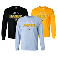 Hanby Basketball Long Sleeve T-Shirt