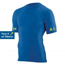 "AI Football ""Hyperform Compression"" Short Sleeve T-Shirt"