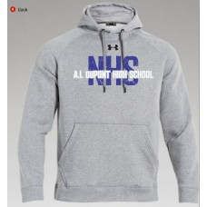 AI NHS Under Armour Hoodie - GRAY