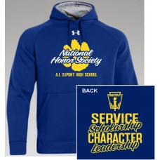 AI NHS Under Armour Hoodie - BLUE