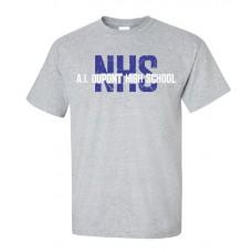 AI NHS Short Sleeve T-Shirt - GRAY