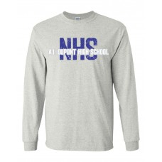 AI NHS Long Sleeve T-Shirt - GRAY