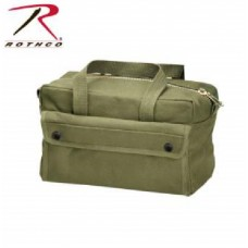 Mechanics Tool Bag with Brass Zipper