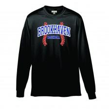 Brookhaven Baseball Long Sleeve Wicking T-Shirt