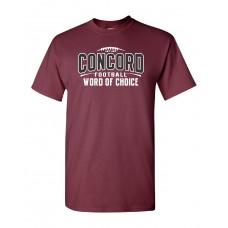 "Concord Football ""CUSTOM"" SS T-Shirt"