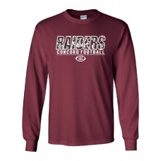 Concord Football  Long Sleeve T-Shirt