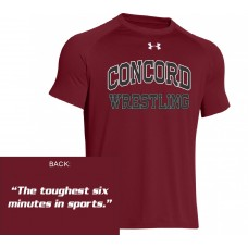 Concord Wrestling Under Armour SS T-Shirt