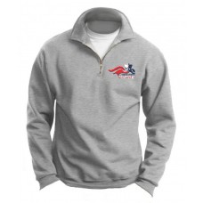 Newark Charter Athletic Logo Fleece 1/4 Zip