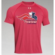 "Newark Charter Athletic Logo Under Armour ""Stripe"" Tee"