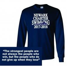 Newark Charter Swimming Long Sleeve T-Shirt