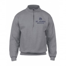 ST. JAMES 1/4 ZIP FLEECE SWEAT SHIRT