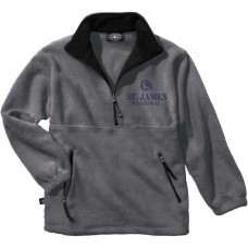 ST. JAMES 1/4 ZIP FLEECE JACKET