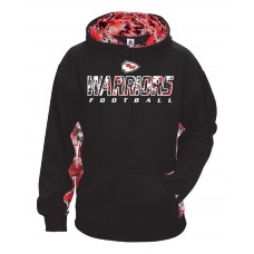 Warriors Digital Camo Hoodie - ADULT