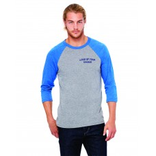 -3/4 Sleeve Baseball Shirt